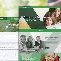 nfp website development