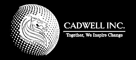 Cadwell inc logo white