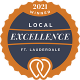 2021 Local Excellence Winner in Ft. Lauderdale, FL